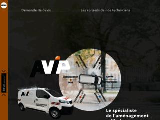 Détails : L'aménagement de véhicule utilitaire par Avip