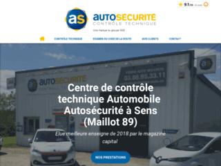 Yonne Auto Sécurité - centre de contrôle technique à Maillot