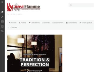 Détails : Conviflamme - vente et installation de systèmes de chauffage au bois à Rouen