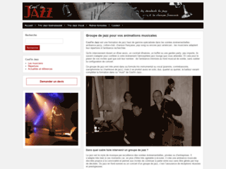 Aperçu du site Cool'in Jazz