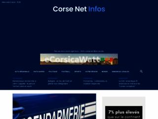 Corse Net Infos, l'info gratuite en ligne