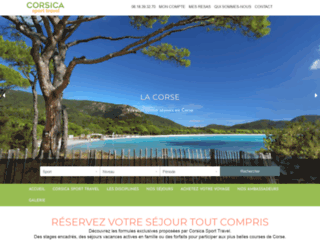 Corsica Sport Travel, séjours sportifs en Corse