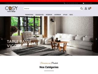 Détails : Cosy Home Design : des meubles de qualité