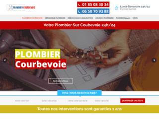 Plombier pas chère à proximité de Courbevoie