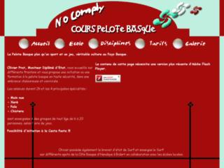 Cours de pelote basque - pelote basque -  No Comply