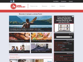 Capture du site http://www.cours-pilates.net/