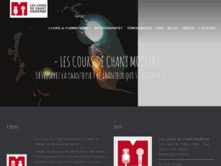 Détails : Cours de chant moderne a Paris