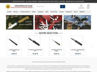 Couteaux Clic vente en ligne de couteaux