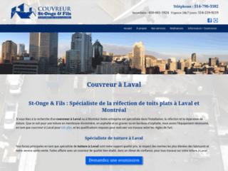 Détails : Couvreurs St-Onge et Fils