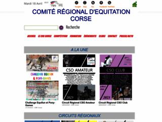Comité Régional d'Equitation Corse