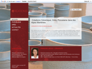 Creations ceramique - Francine Lecoq