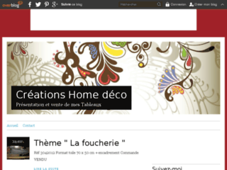 "Vente de tableaux "" Home D�co """