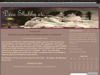 Capture du site http://creationshabby.canalblog.com