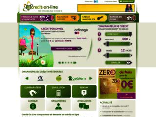 comparateur de crédit personnel en ligne