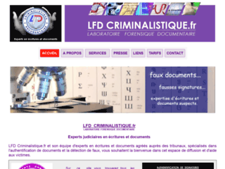 Laboratoire Forensique Documentaire
