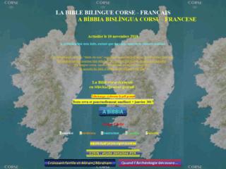 La bible bilingue corse-français