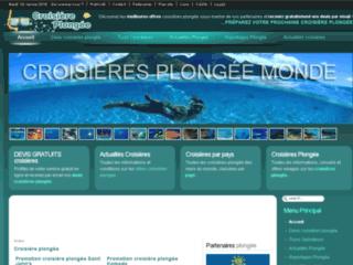 Image Croisière plongée