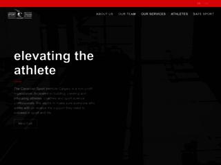 Image l'Institut canadien du sport