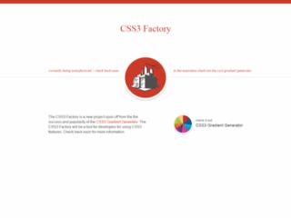 Generatore di sfumature CSS - Css3factory.com