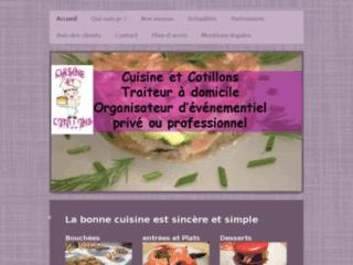 Cuisine et cotillons