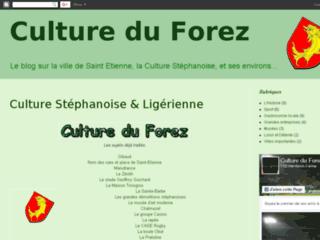 Capture du site http://cultureduforez.blogspot.com/