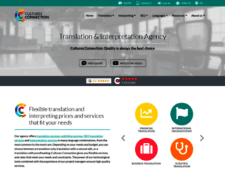 Agence de traduction Cultures Connection