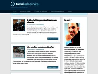 Blog de cumul info service  communication services aux entreprises