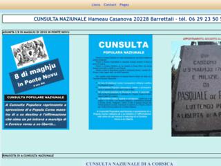 Cunsulta Naziunale di a Corsica