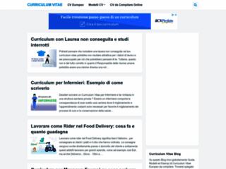 Curriculum vitae Europeo - Scarica Curriculum vitae - CV Europeo