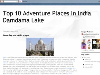 Adventure Places In India Damdama Lake