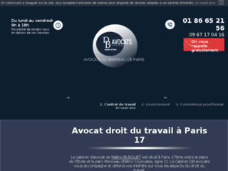 Avocat en droit du travail à Paris 17ème