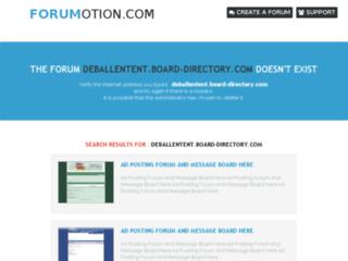 http://deballentent.board-directory.com
