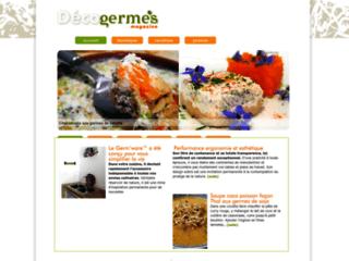 germes et fruits biologique