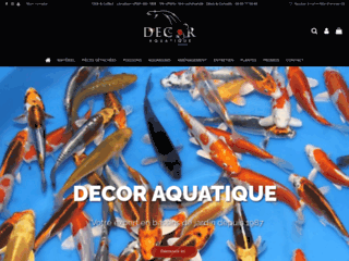 Capture du site http://www.decor-aquatique.com/