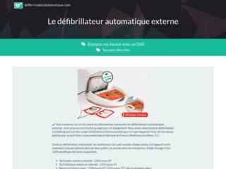 Détails : Défibrillateur obligatoire dans les ERP