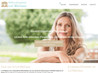 Immobilier défiscalisant Malraux