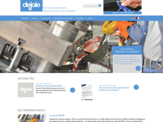 Dejoie, entreprise de fonderie aluminium à Nantes
