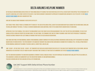 Get 24X7 Support With Delta Airlines Phone Number