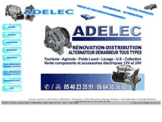 ADELEC specialiste demarreurs et alternateurs toutes marques