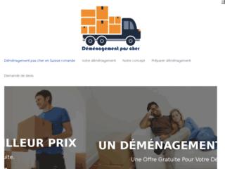 Service de déménagement pas cher en Suisse