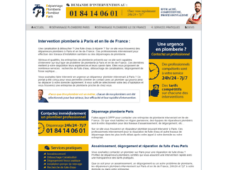 Plombier Paris urgence et dépannage