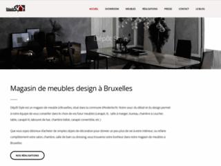 Détails : Dépôt Style : magasin de meubles à Bruxelles