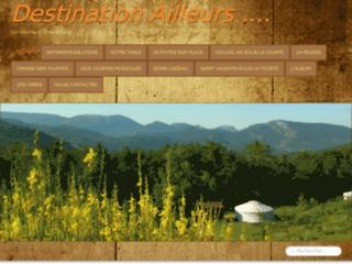 Destination Ailleurs. Week-end insolite en Yourte dans les Alpes de Haute Provence