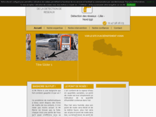 Détails : Détection de réseaux dans Lille  (Nord)