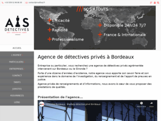 Détails : Détective Bordeaux