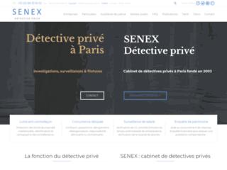 SENEX : agence de detective à Paris
