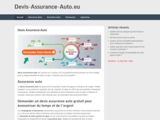 Aperçu du site Devis Assurance Auto