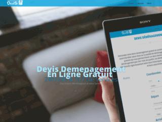 Détails : devis demenagement en ligne