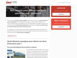 Devis et Comparateurs d'assurance auto en ligne
