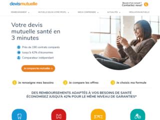 Comparateur mutuelles et assurances complémentaire sur http://www.devismutuelle.com